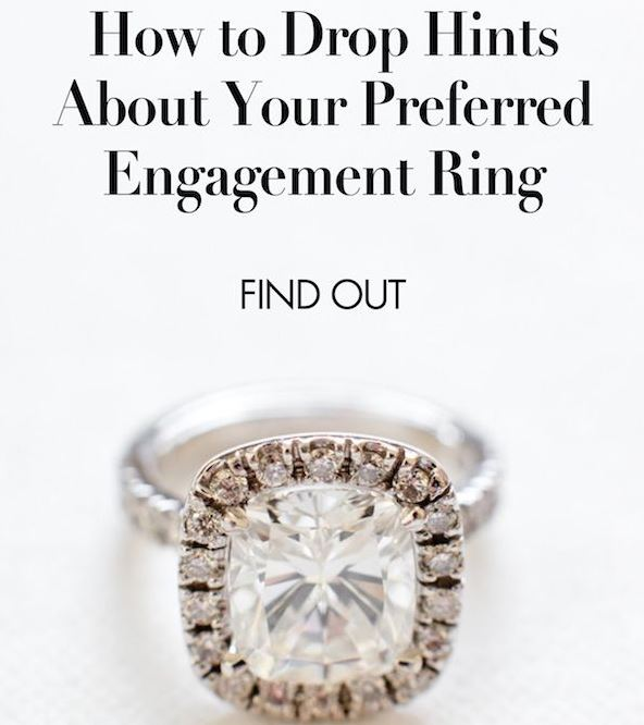 Engagement Ring Hints