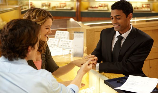 Engagement Ring Shopping Together